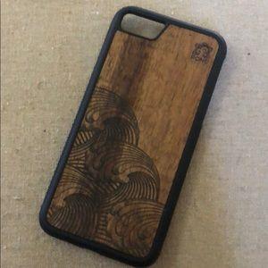 Accessories - Koa Wood Phoenix case -iPhone 7